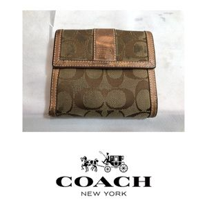 Used Coach Fold-Out Wallet